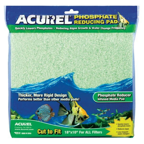 Phosphate Infused Media Aquarium Pad by Acurel