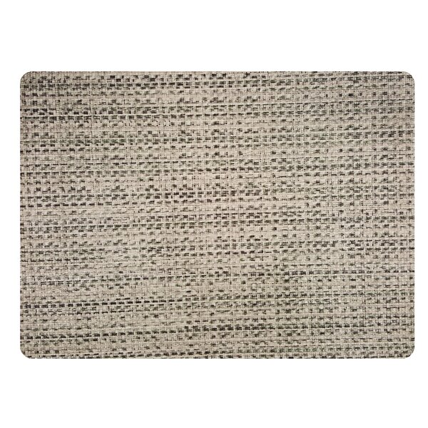 Burlap Rectangle Placemat (Set of 4) by Dasco