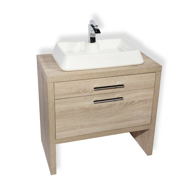 Montreal 24 Single Bathroom Vanity Set by Hispania Home