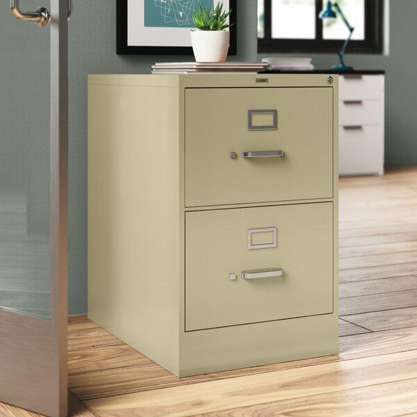 310 Series 2-Drawer Vertical Filing Cabinet