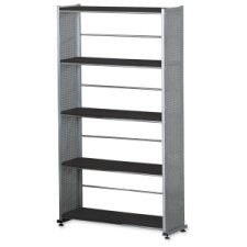 Accent H Four Shelf Shelving Unit by Mayline Group