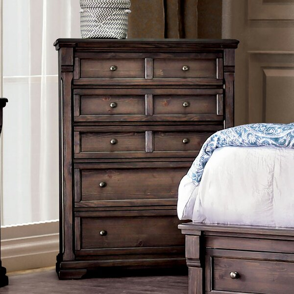 Bluxome 5 Drawer Chest by Canora Grey Canora Grey