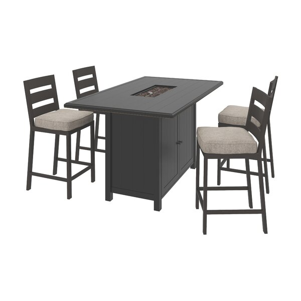 Jasso 4-Piece Bar Set by Darby Home Co Darby Home Co
