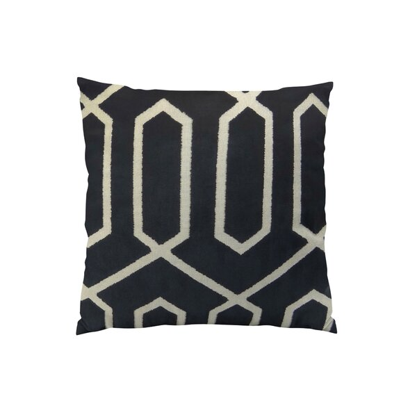 Bengal Lattice Euro Pillow by Plutus Brands