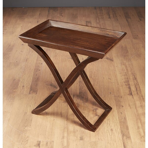Edgao Tray Table by Alcott Hill
