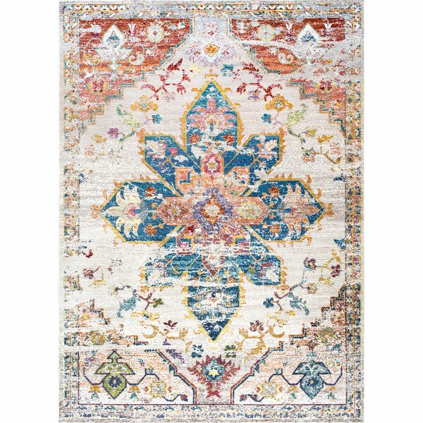 Concord Ivory Area Rug by Bungalow Rose