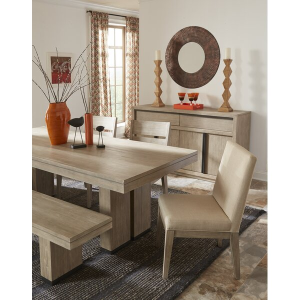 Kadence Wood Upholstered Dining Chair (Set of 2) by Loon Peak