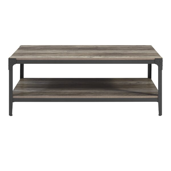 Modern Contemporary Weathered Grey Coffee Table Allmodern