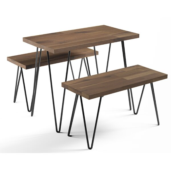 Call 3 Piece Dining Set by Union Rustic