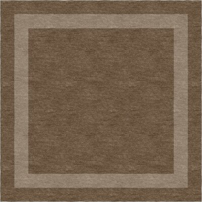 Darby Home Comacclesfield Stripe Hand Tufted Wool Brown Indoor Area Rug Darby Home Co Rug Size Square 4 Dailymail