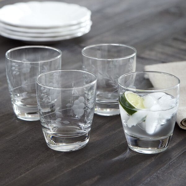 Eckhart Double Old-Fashioned Glasses (Set of 4) by Birch Lane™