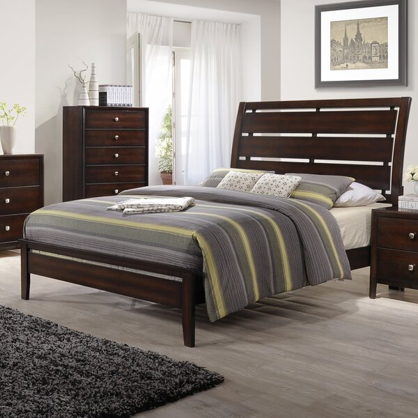 Chara Simmons Casegoods Panel Bed by Latitude Run