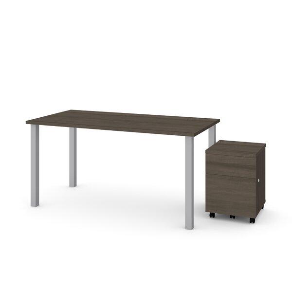 Ally 2 Piece Desk Office Suite by Symple Stuff