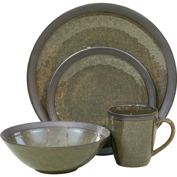 Omega 16 Piece Dinnerware Set, Service for 4 by Sa