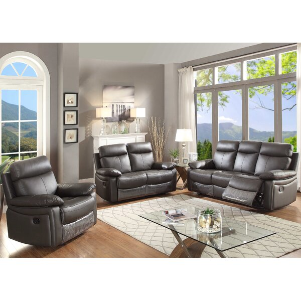 AC Pacific Ryker 3 Piece Living Room Set   Wayfair
