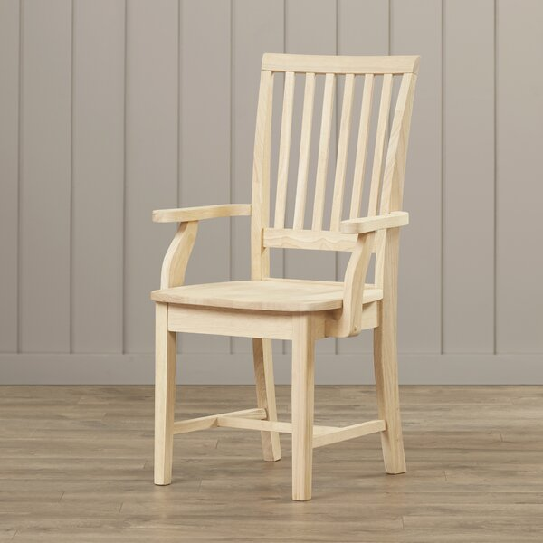 Pleasanton Solid Wood Dining Chair by Loon Peak