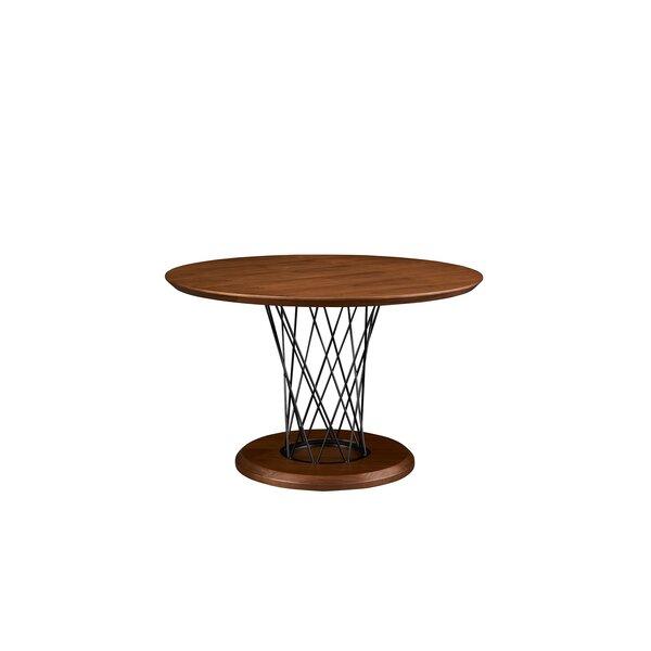 Aloway Solid Wood Dining Table by Brayden Studio Brayden Studio