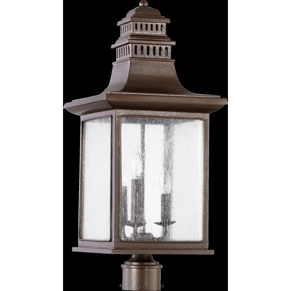 Brittany Outdoor 3-Light Lantern Head by Alcott Hill