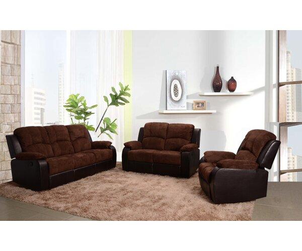 Pamela Reclining 3 Piece Living Room Set by Beverly Fine Furniture