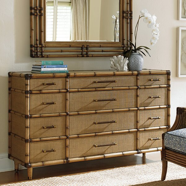Twin Palms 12 Drawer Dresser by Tommy Bahama Home