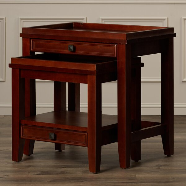 Nelsonville 2 Piece Nesting Tables By Alcott Hill®