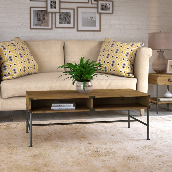 Ironworks Coffee Table By Kathy Ireland Home By Bush Furniture