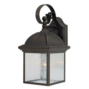 Read Reviews Exterior 1-Light Outdoor Wall Lantern By Westinghouse Lighting