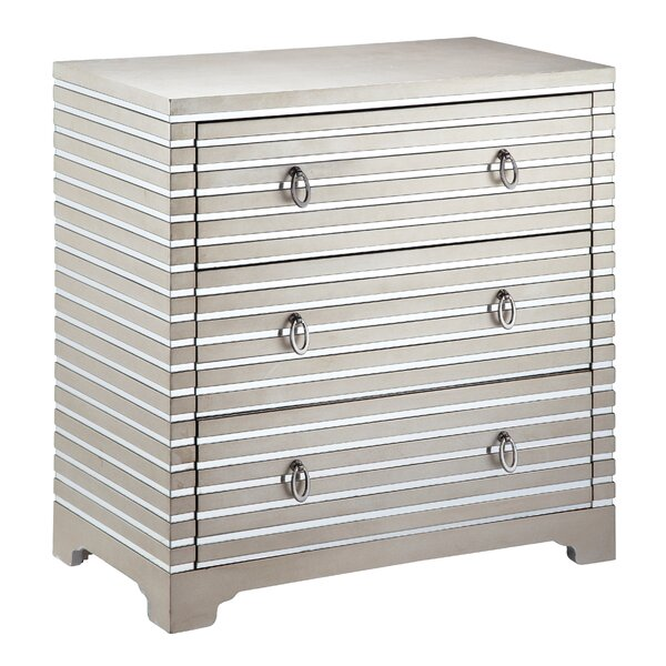 Luton 3 Drawer Chest by House of Hampton