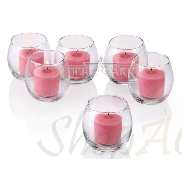 Glass Votive Set (Set of 36) by Light In the Dark