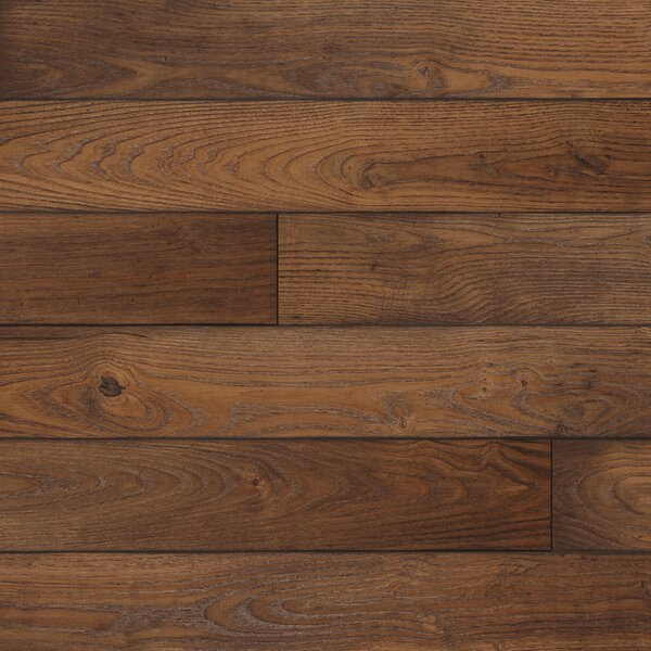 Restoration 6'' x 51'' x 12mm Chestnut Laminate Flooring in Coffee by Mannington
