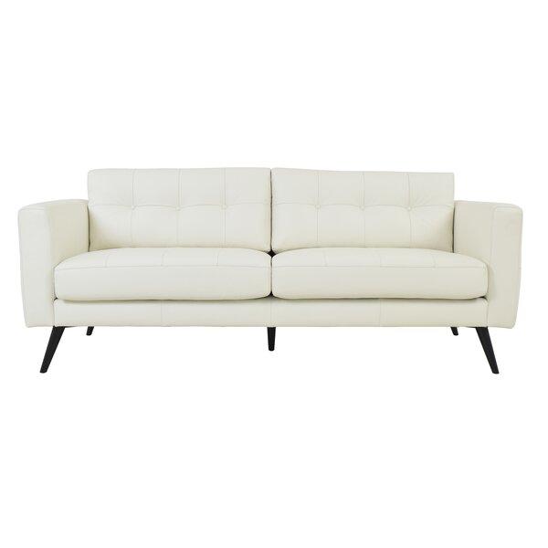 Gordon Leather Sofa By Corrigan Studio Wonderful