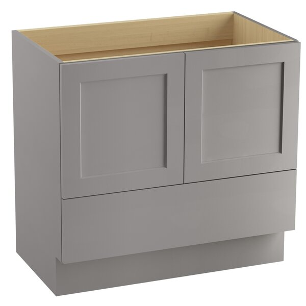 Poplin™ 36 Vanity with Toe Kick, 2 Doors and 1 Drawer by Kohler