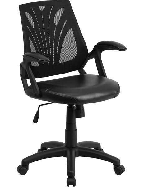 Drinnon Mid-Back Ergonomic Mesh Swivel Office Chair by Ebern Designs