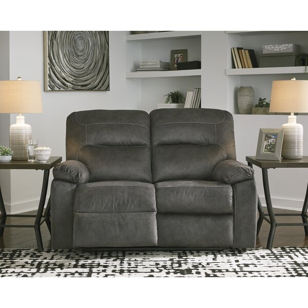 Weekend Promotions Wimberley Reclining Loveseat by Red Barrel Studio by Red Barrel Studio