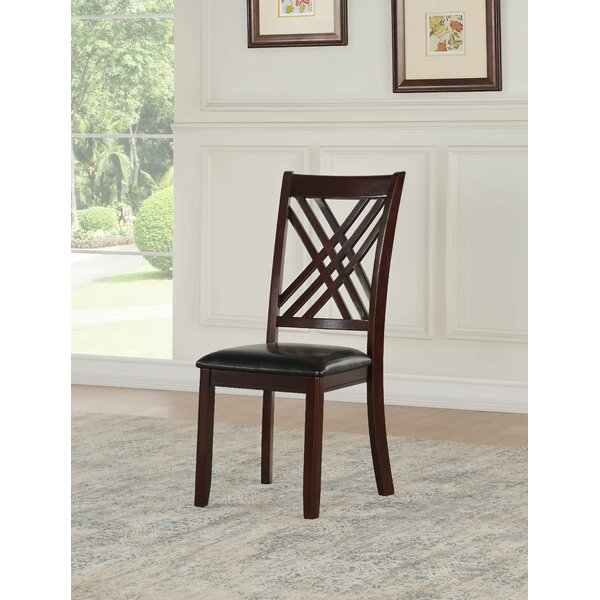 Ewalt Solid Wood Dining Chair (Set of 2) by Darby Home Co Darby Home Co