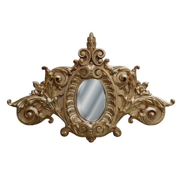 Scroll Accent Mirror by Hickory Manor House