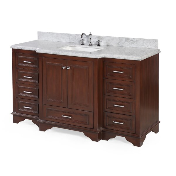 Nantucket 60 Single Bathroom Vanity Set by Kitchen Bath Collection