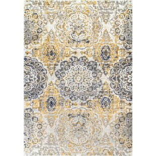 Shop For Kelvin Gold Area Rug By Bungalow Rose
