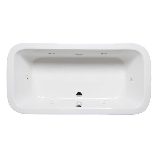 Nerissa 66 x 34 Drop in Whirlpool Bathtub by Americh