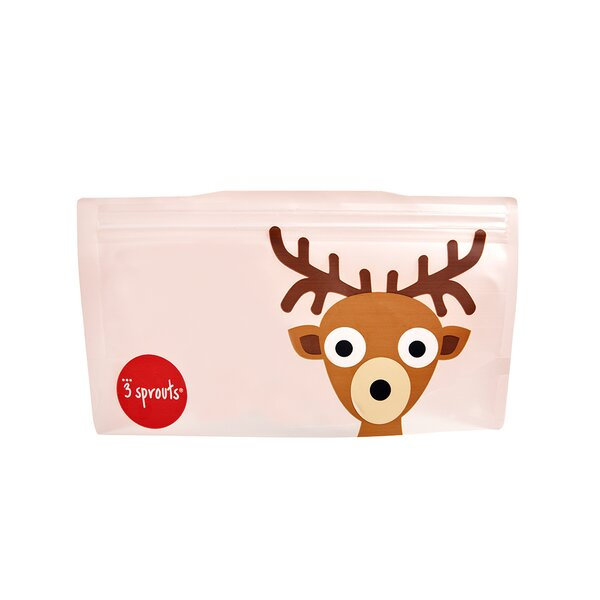 Deer Snack Bag (Set of 2) by 3 Sprouts