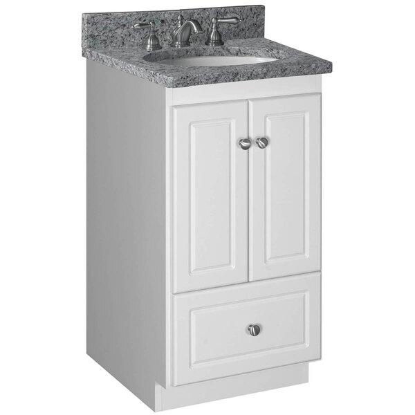 Simplicity 18 Bathroom Vanity Base by Strasser Woodenworks