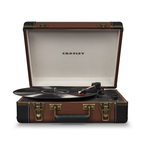 Executive Deluxe Portable USB Turntable by Crosley