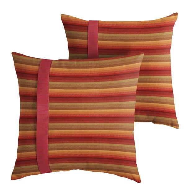 Vanhook Indoor/Outdoor Throw Pillow (Set of 2) by Red Barrel Studio