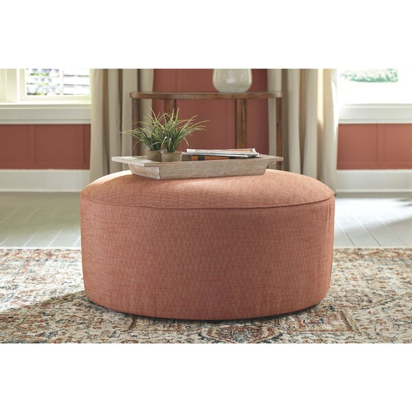 Southworth Oversized Accent Ottoman by Highland Dunes
