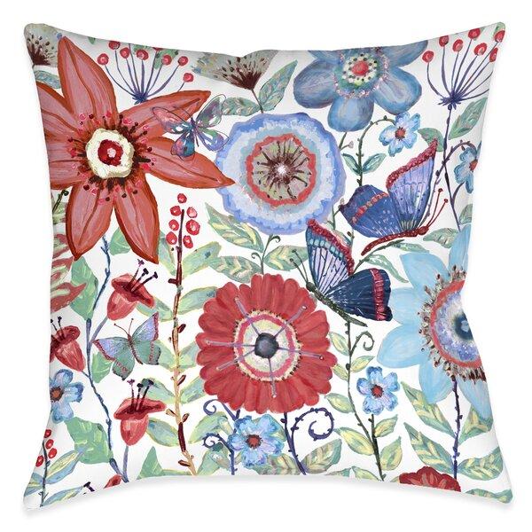 Ashdown Boho Garden Decorative Indoor/Outdoor Throw Pillow