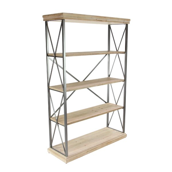 Lykens Modern 4 Tier Etagere Bookcase by Gracie Oaks