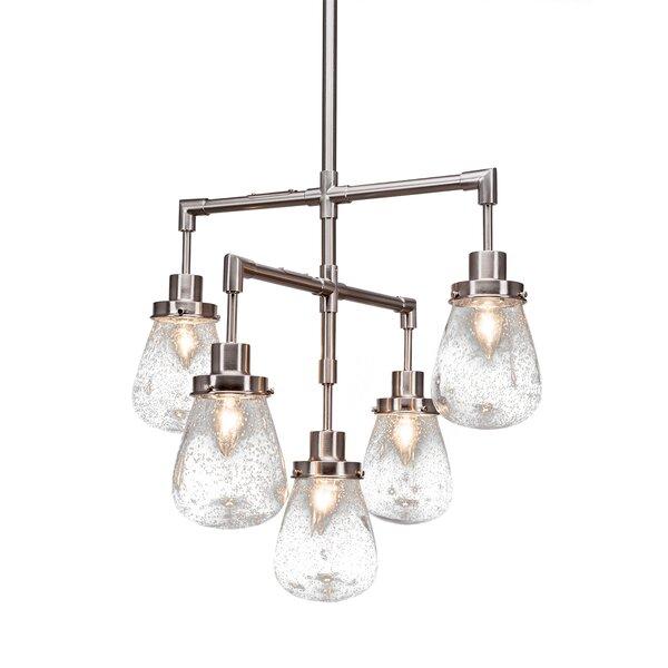 Elwell 5-Light Sputnik Chandelier by Ivy Bronx