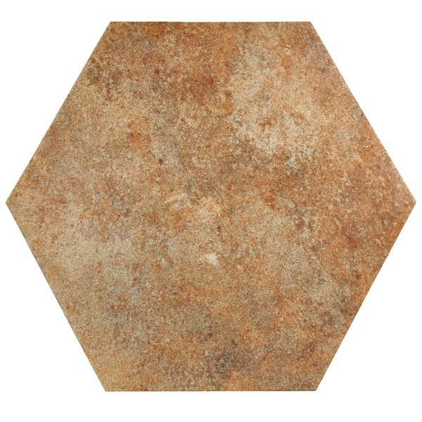 Lincoln 14 x 16 Porcelain Field Tile in Orange by EliteTile