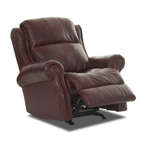 Defiance Recliner with Headrest and Lumbar Support by Red Barrel Studio