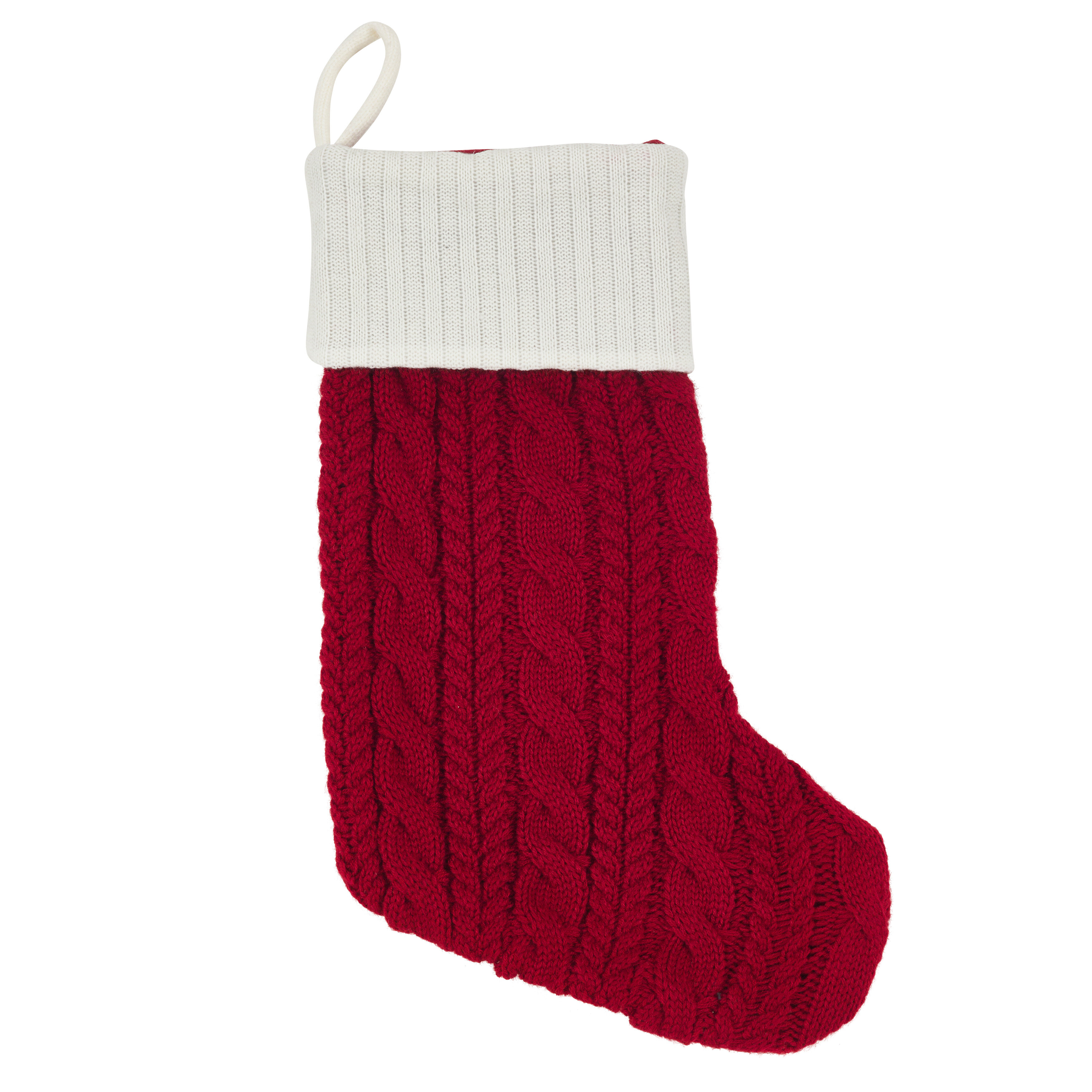 Cable Knit Christmas Stockings.Jelestrompe Cable Knit Holiday Christmas Stocking